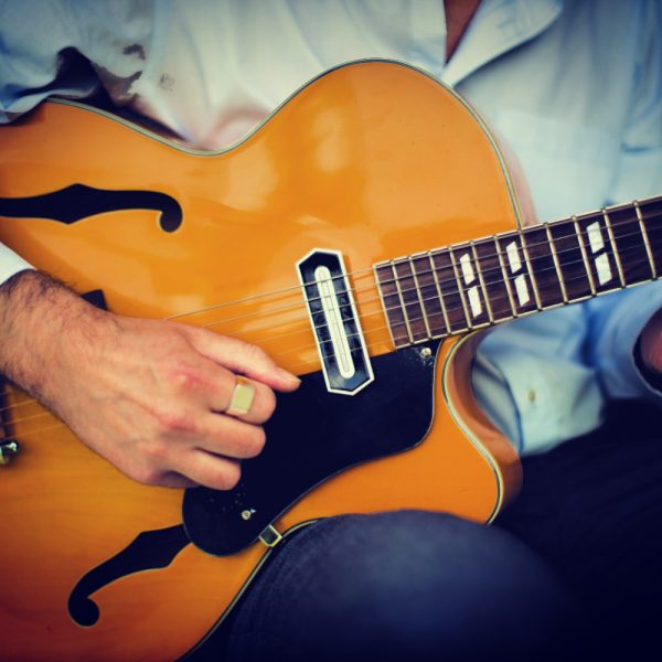 Intro to Swing Guitar class